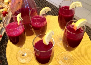 Beet Juice Cocktail