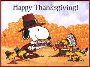 Snoopy and Indian Thanksgiving