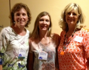 Carol Morgan, Denise Kennedy & Cathy Silver pictured at the 38th Annual Conference for Spiritual and Consciousness Studies in Scottsdale July 10-13