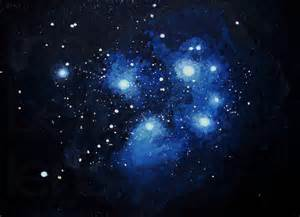 Seven Sisters Pleiades Constellation